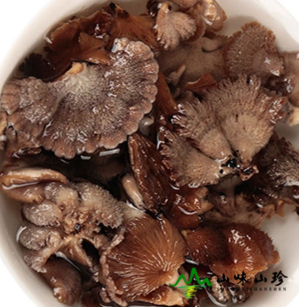 干白参菌的泡发方法