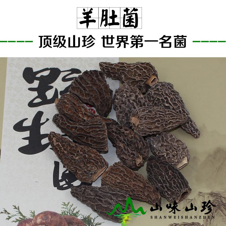 野生羊肚菌5-7cm