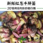 2018年8月份新鲜红葱牛肝菌价格行情
